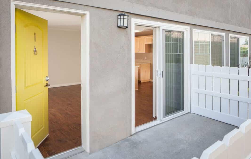 Entrance door at the Avignon Apartment Homes